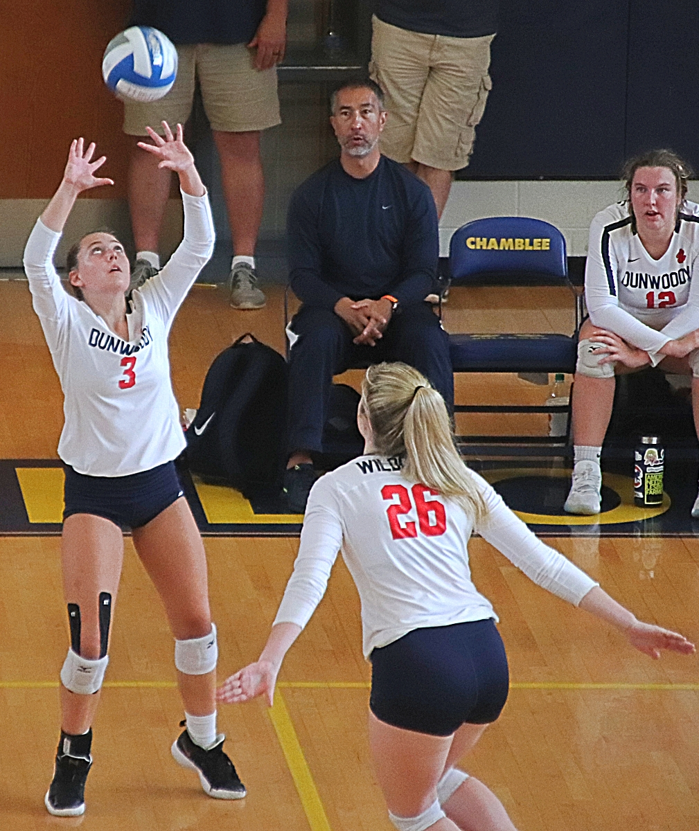 Dunwoody travels to Chamblee to face the Bulldogs and Tucker to open 2020 volleyball season. (Photo by Mark Brock)