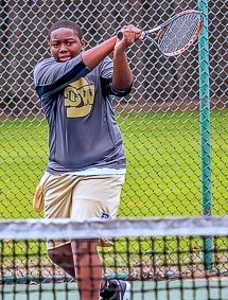 Southwest DeKalb 2019 graduated Khalil Moss signed with Fort Valley State to play tennis and further his academic career. (Photo courtesy of Lance Davenport)