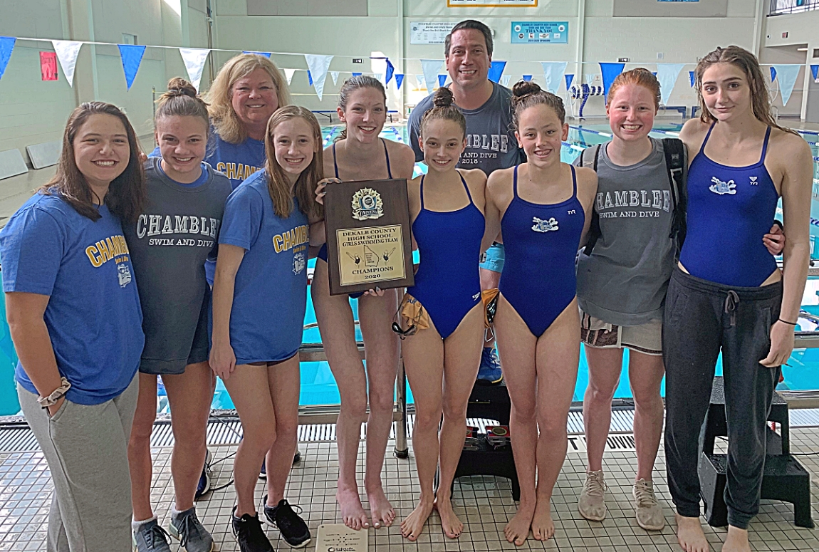 Chamblee defended its DeKalb County championship and won its third overall.