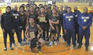 2020 DCSD JV Boys County Champs -- Southwest DeKalb Panthers