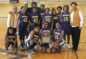 2020 DCSD JV Girls County Champions -- Southwest DeKalb Lady Panthers
