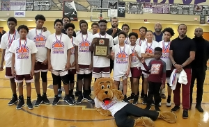 2020 DCSD Middle School Basketball Championships Boys' Champion -- Salem Lions