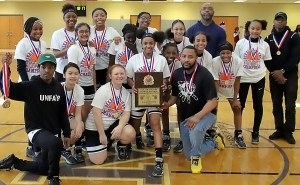2020 DCSD Middle School Basketball Championships Girls' Champion -- Tucker Lady Tigers