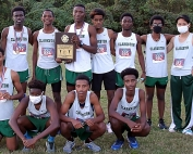 The Clarkston Angoras repeated as the DCSD Cross Country Boys' Champs . (Photo by Mark Brock)