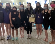 Lakeside Lady Vikings - 2021 DCSD Swim and Dive Girls' Champs