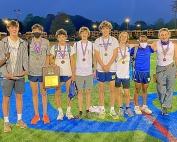2021 DCSD JV Boys County Track and Field Champions -- Decatur Bulldogs
