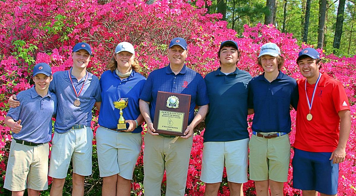 2021 DCSD Golf Champions -- Dunwoody Wildcats