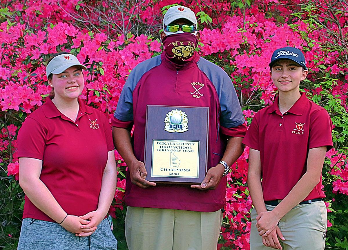 2021 DCSD Girls Golf Champions -- Tucker Lady Tigers