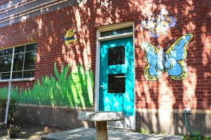 art on marbut elementary wall