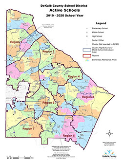 Active Schools Map