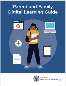 parent family engagement digital learning guide cover