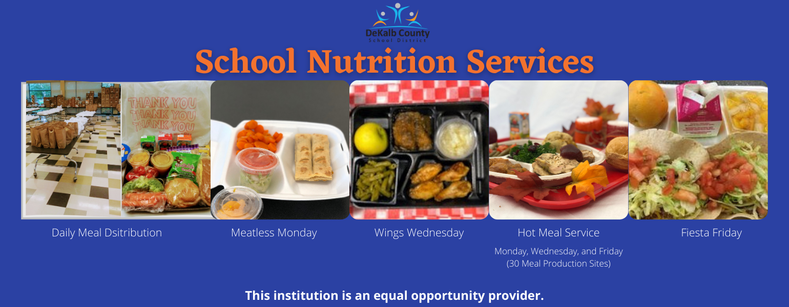 school nutrition services banner image