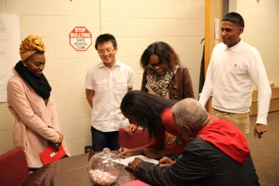 Stone Mountain HS Students For Honors Program