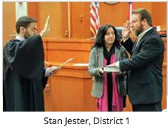 Stan Jester | Board Members Take Oath of Office