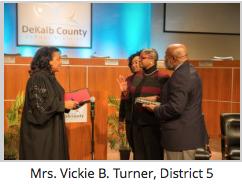 Mrs. Vickie B. Turner | Board Members Take Oath of Office