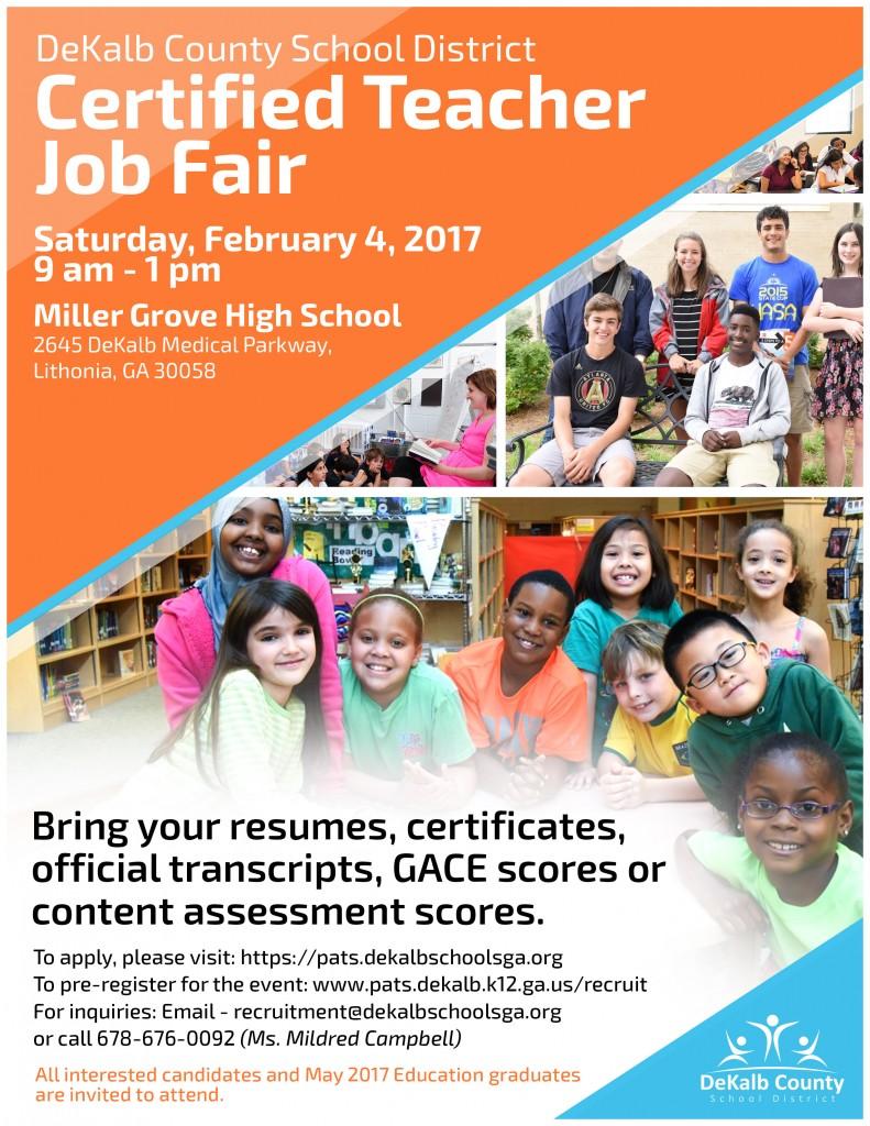 DCSD Certified Teachers Job Fair USE