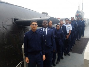Towers High School JROTC Cadets in San Diego, California