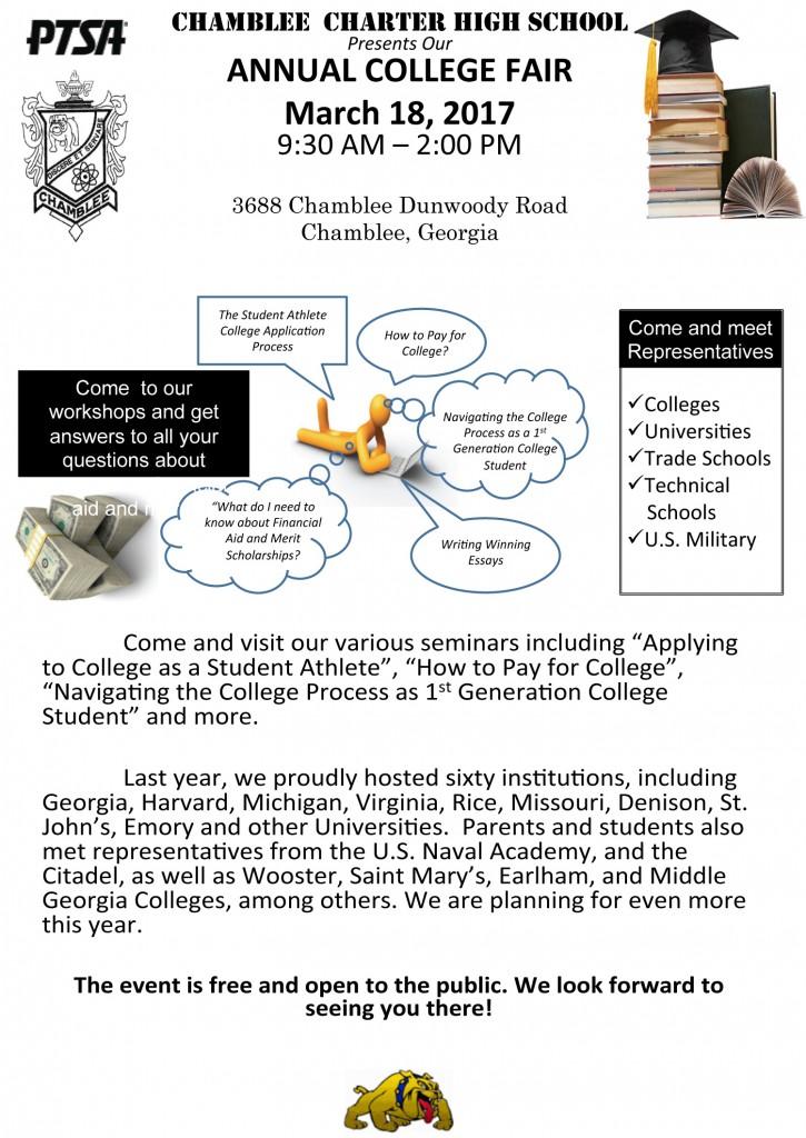 Chamblee College Fair 3