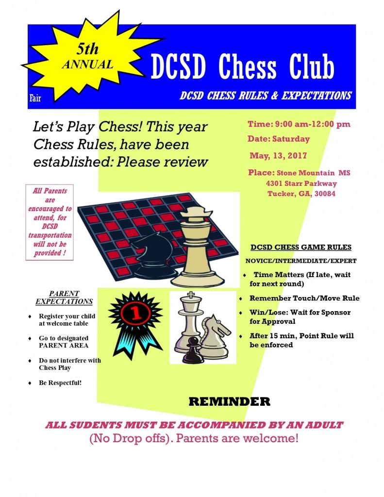 2017 DCSD Chess Club Fair