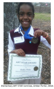 ART STAR Student Winner
