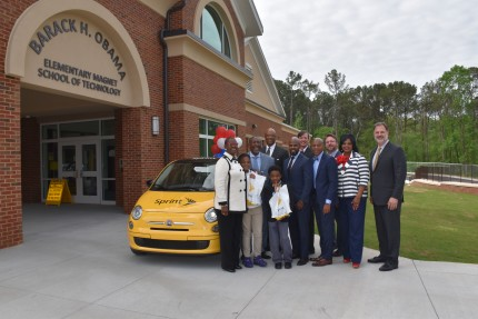 Sprint's Surprise for Obama Elementary Students