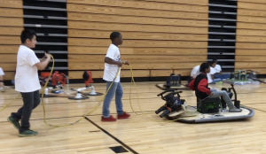 McNair Middle School Hovercraft STEM Team
