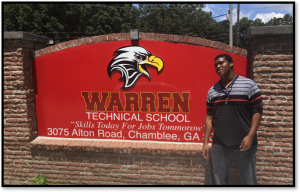 Warren Tech Student