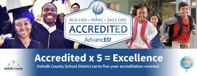 AdvancED Accreditation | DeKalb Schools Awarded AdvancED Accreditation Renewal