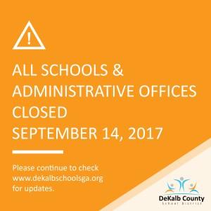 DCSD Closed 9 14 17_Irma