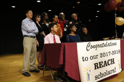 Tucker Middle Students Recognized as REACH Scholars