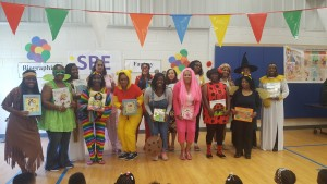 SRES Reading Assembly Staff