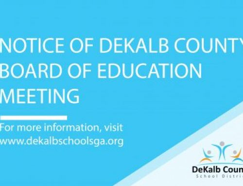 DeKalb County Board of Education March Meeting Notice