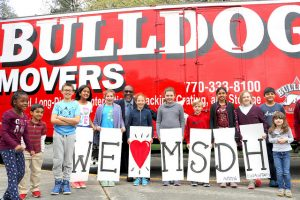 Three DCSD Elementary Schools Team Up for Act of Kindness.