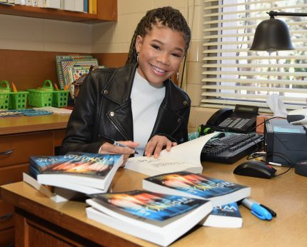 "Chesnut Elementary surprised by ""A Wrinkle in Time"" lead, Storm Reid"