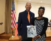 Congressman Hank Johnson and Arantza Pena Popo