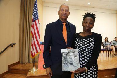 Congressman Hank Johnson and Arantza Pena Popo