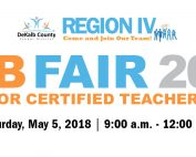 DCSD Region 4 Job Fair April 2018