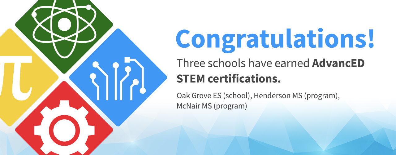 3 Schools Receive STEM Certification