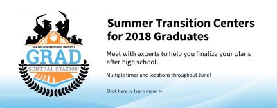 Web Banner Summer Transition Center