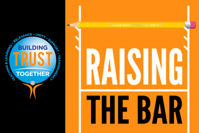 raising the bar graphic