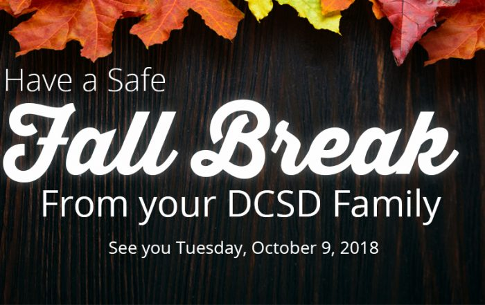 fall break web banner
