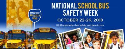 School Bus Safety Week Banner