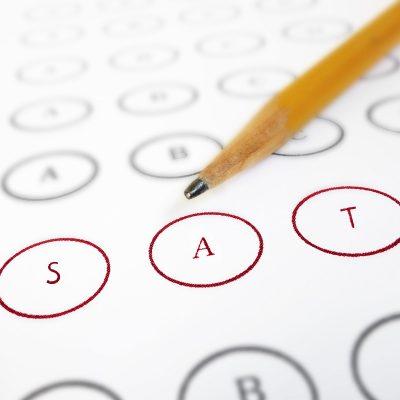 SAT scantron testing