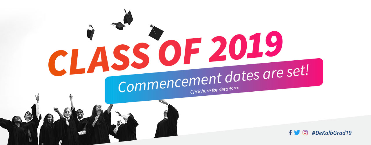 2019 graduation announcement banner