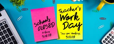 March 2019 Teacher Workday