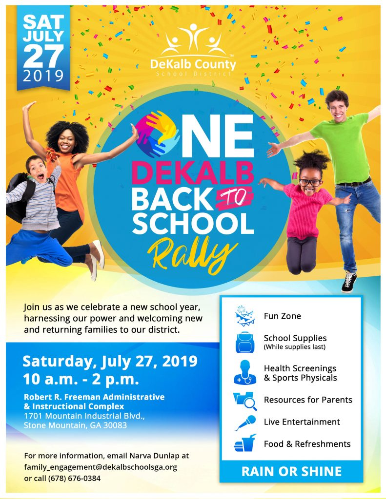 2019-2020 Back to School Rally