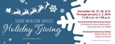 holiday giving web banner