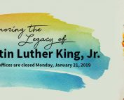 MLK Jr. Day – Schools Closed Monday