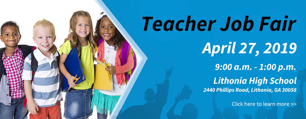 teacher job fair april 2019