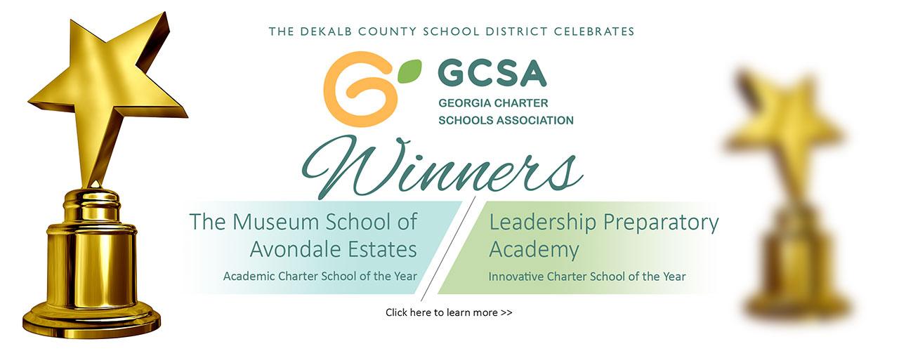 2019 GCSA award banner